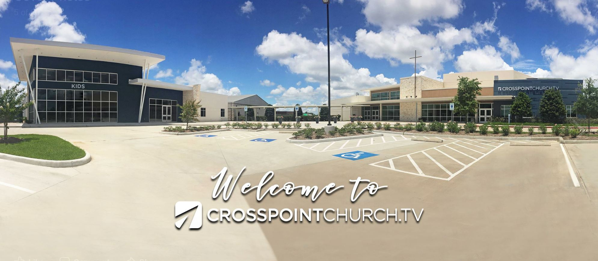 Crosspoint Church Campus in Pearland, Texas